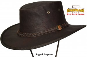 Barmah Red Rock Range Kangaroo Full Grain 1079
