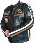 Kopie von  Kookaburra Leisure Leather Jacket (to XL)