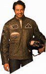 Kopie von  Kookaburra Leisure Leather Jacket  (from XXL to 4XL)